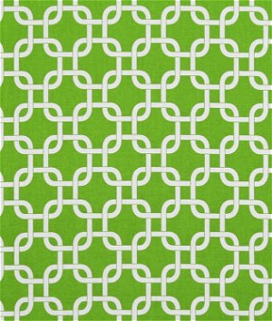 Premier Prints Gotcha Chartreuse/White Fabric