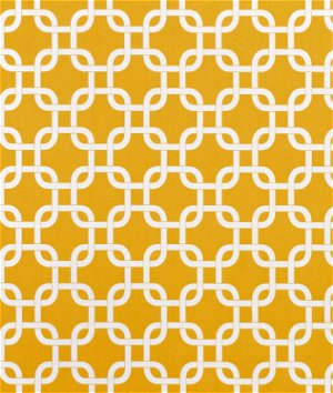 Premier Prints Outdoor Gotcha Yellow Fabric