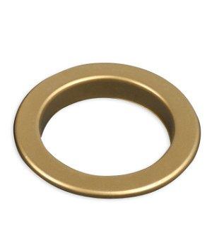 "Gold Matte Drapery Grommets - 1-5/8"""