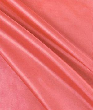 Coral Habutae Fabric