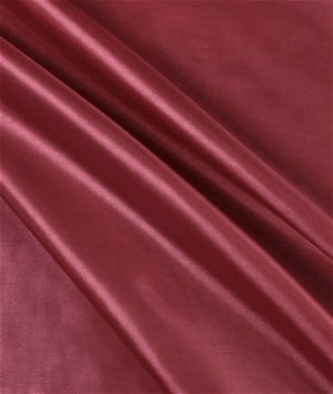 Burgundy Habutae Fabric