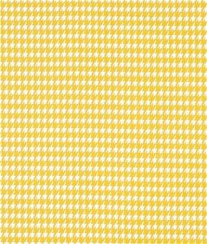 Premier Prints Houndstooth Corn Yellow Twill Fabric