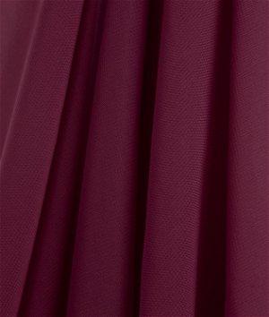 Burgundy Chiffon Fabric