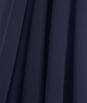 Navy Blue Chiffon Fabric