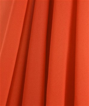 Orange Chiffon Fabric
