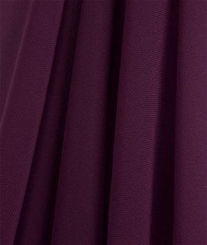Plum Chiffon Fabric