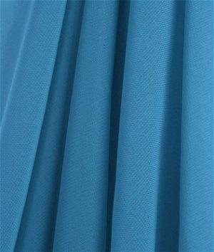 Turquoise Chiffon Fabric