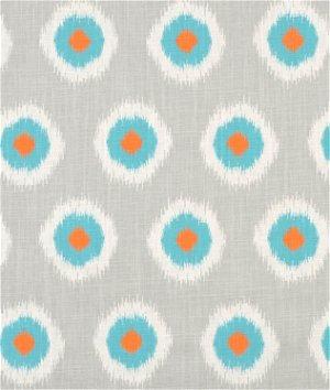 Premier Prints Ikat Domino Mandarin Dossett Fabric