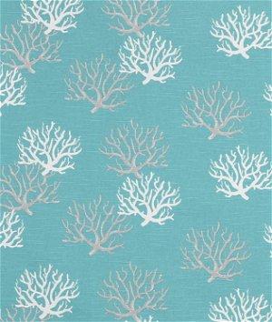 Premier Prints Isadella Coastal Blue Slub Fabric