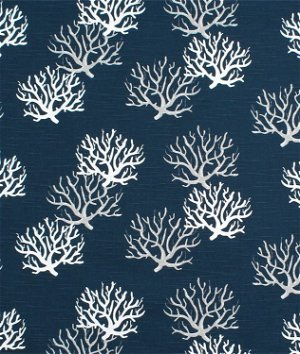 Premier Prints Isadella Premier Navy Slub Fabric