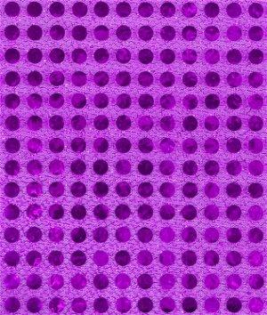 6mm Purple Sequin Fabric