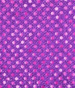 3mm Purple Sequin Fabric