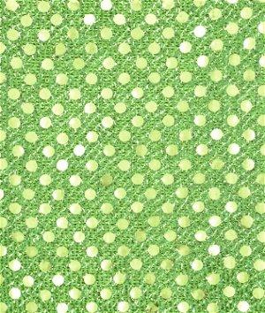 3mm Neon Green Sequin Fabric