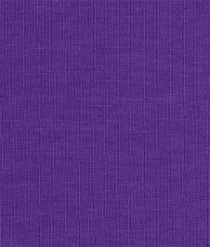 Robert Kaufman Amethyst Laguna Cotton Jersey Fabric