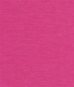 Robert Kaufman Hot Pink Laguna Cotton Jersey Fabric