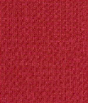 Robert Kaufman Red Laguna Cotton Jersey Fabric