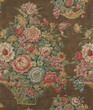 Ralph Lauren Harlington Floral Brown Fabric