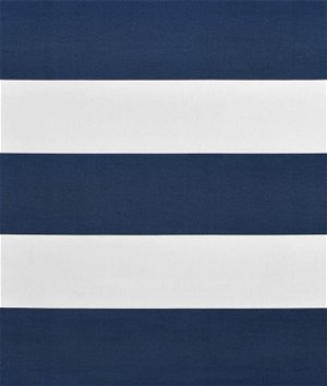 Ralph Lauren Lighthouse Stripe White/Navy Fabric