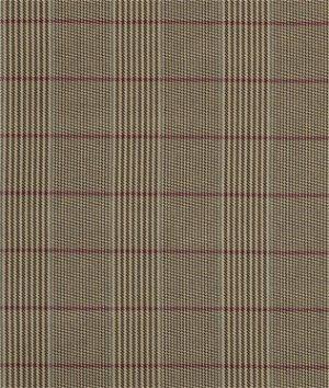 Ralph Lauren Norton Plaid Camel Fabric