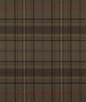Ralph Lauren Wighwick Plaid Moss Fabric