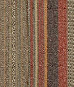 Ralph Lauren Blue Mesa Stripe Clay Fabric