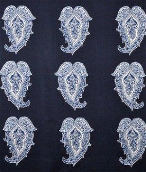 ralph lauren st kitts paisley indigo fabric - Ralph Lauren Indigo
