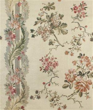 Ralph Lauren Espalier Floral Parchment Fabric