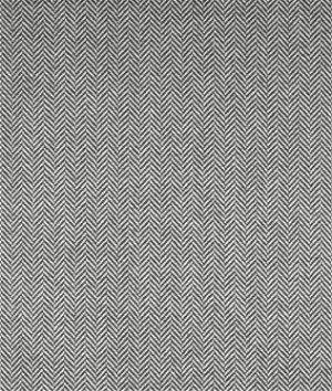 Ralph Lauren Balines Herringbone Grey Cream Fabric