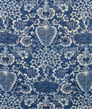 Ralph Lauren La Garoupe Indigo Fabric
