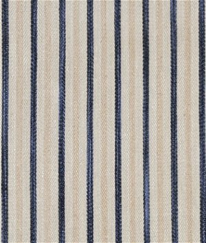 Ralph Lauren Calvados Ticking Indigo Fabric