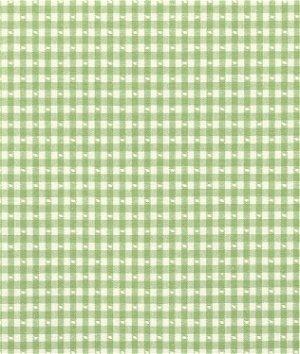 Covington Linley Gingham Fern 228 Fabric