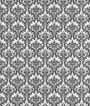 Premier Prints Madison Black/White Fabric