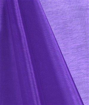 Purple Mirror Organza Fabric