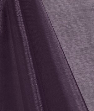Plum Mirror Organza Fabric