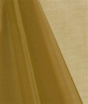 Dark Gold Mirror Organza Fabric