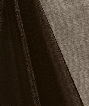 Brown Mirror Organza Fabric