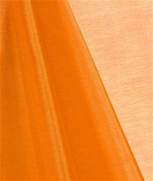 Orange Mirror Organza Fabric