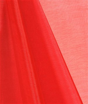Red Mirror Organza Fabric