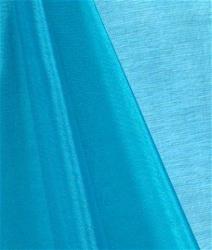 Turquoise Mirror Organza Fabric
