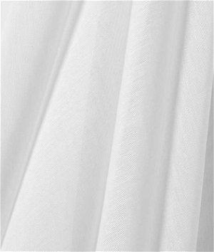 Bravo 118 Inch White Mussola Fabric