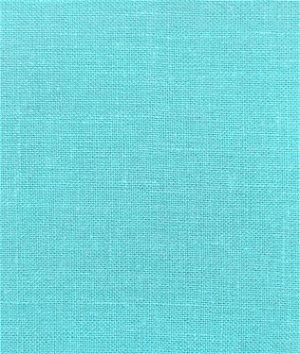 Aqua Irish Linen Fabric