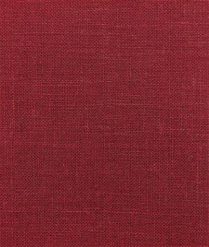 Burgundy Irish Linen Fabric
