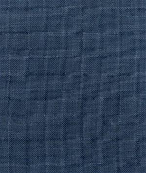 New Indigo Blue Irish Linen Fabric