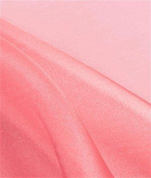 Coral Crystal Organza Fabric