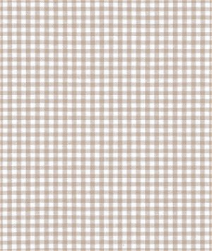 """Robert Kaufman 1/8"""" Sand Carolina Gingham Fabric"""