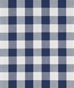 """Robert Kaufman 1"""" Navy Blue Carolina Gingham Fabric"""