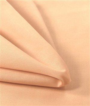 "57"" Peach Broadcloth Fabric"