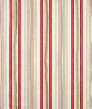 Berkshire Hill Rouge Ticking Fabric