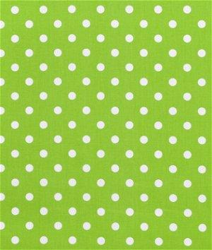 Premier Prints Polka Dot Chartreuse/White Fabric