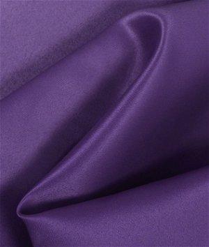Purple Matte Satin (Peau de Soie) Fabric